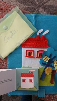 Gift Wrapping, Handmade, English, Club, Art, Short Stories, Box, Felt Games, Storytelling