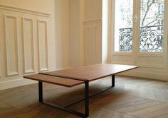 TABLE BASSE SÉVERIN by Alex Derouvray