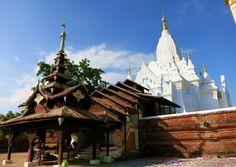White Pagoda in Bagan