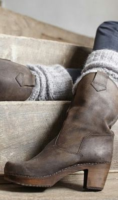 mid calf boots with socks