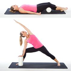 10 Ways to Use a Foam Roller - Very interesting!  Rolling out your sore muscles is only 1 of the 10 ways!!  I am going to use it to crack my back later...