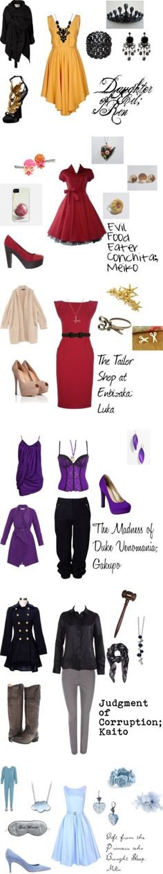 """""""The Seven Deadly Sins"""" by winterlake25 on Polyvore"""