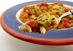 Black-eyed Pea Gumbo. #Vegan #Glutenfree #xgfx