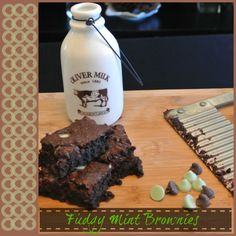 Fudgy Mint Brownies Recipe 3 Points +