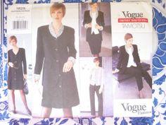 Vogue Pattern  1825   -   TAMOTSU   -      Size:  12-14-16    -    Uncut