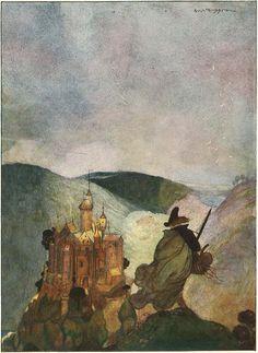 Gustaf Tenggren's Grimm's Fairy Tales.