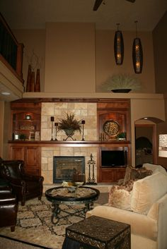 Fireplace Sioux Falls  Prairie Heritage Cabinetry - Sioux Falls, SD Fireplace Surround and Built-Ins