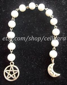 13 Moons Pagan Prayer Bead Set by CellDara on Etsy