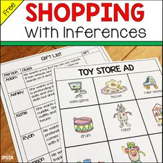 Browse over 150 educational resources created by The Speech Zone in the official Teachers Pay Teachers store. Speech Therapy Activities, Language Activities, Reading Activities, Speech Language Pathology, Speech And Language, Language Arts, Problem Solving Activities, I Love School, Receptive Language