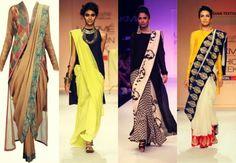 Saree with kurti - Shop G3fashion Kurtis online