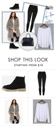 """""""SheIn 6/V"""" by hedija-okanovic ❤ liked on Polyvore featuring WithChic, River Island and shein"""