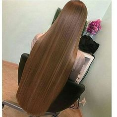 Long beautiful silky hair is the best Beautiful Long Hair, Gorgeous Hair, Pretty Hairstyles, Straight Hairstyles, One Length Hair, Long Dark Hair, Silk Hair, Super Long Hair, Hair Lengths