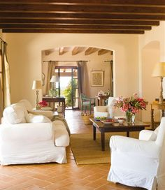 Rustic Summer House in Spain | Inspiring Interiors