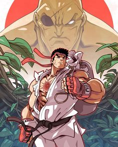 Here's the full reveal of my @udonent Street Fighter Unlimited #1 cover. Exclusive for MyGeekBox. #edwinhuang #udonartist #streetfighter #mygeekbox by ironpinky
