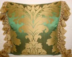 fringed pillow - Google Search