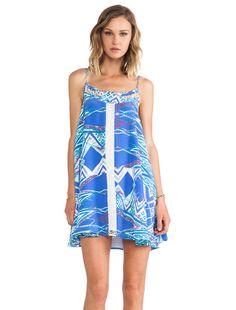 Lovers + Friends Hagar Mini Dress in Ikat