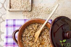 Lenticchie in umido con  #farro e grano #saraceno. per un autunno pieno di #benessere!