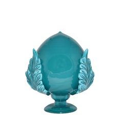 Pumo in cermaica turchese 20cm - Elisabetta Mondo - http://www.elisabettamondo.com/oggettistica/451-pumo-in-cermaica-turchese-20cm.html