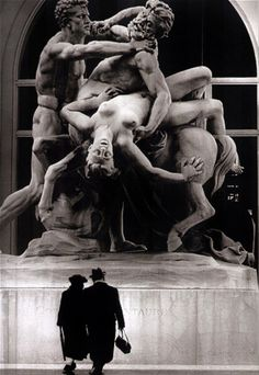 Photography by Robert Doisneau.