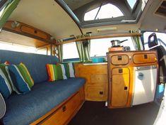 VW T3 Camper Van Interior 2 Volkswagen T3 Camper Van