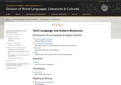 Are you learning or teaching ‪#‎Tamil‬? Check out the open educational resources compiled by the Autonomous Language Learning Network (ALLNet) in the DWLLC! http://clas.uiowa.edu/dwllc/node/814  For more information about ALLNet, please visit our website: http://clas.uiowa.edu/dwllc/allnet