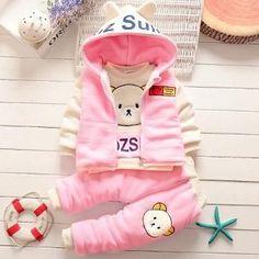 Buy Solid Full Sleeves Pink Hoodie and Pant Set online @ ₹770 | Hopscotch Hopscotch, Full Sleeves, Pink Fashion, Baby Car Seats, Rompers, Hoodies, Children, Pants, Romper