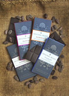 Original Beans chocolate packaging