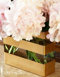 DIY Gilded Vase {DIY Ditto}