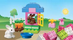 LEGO® DUPLO® Pink Brick Box - I love the carrots! #LegoDuploParty
