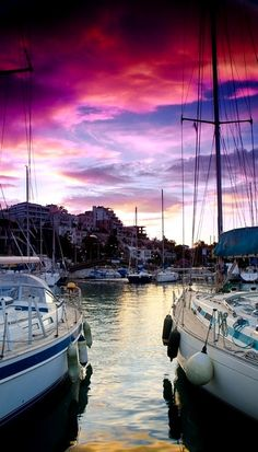 Mikrolimano, a little harbor for fishing boats and luxury yachts in Kastella, Piraeus, Greece