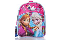 "Disney Frozen Mini Backpack (Pink/Blue)   She'll love this perfect bag for her everyday use, plus her favorite Frozen characters add the icing on a very colorful cake.   Features:  * Zipper opening to main compartment  * Adjustable straps  * Size: 11"" X 8"" X 3""  .  To order: http://www.shopaholic.com.ph/#!/Disney-Frozen-Mini-Backpack-Pink-Blue/p/46017558"