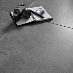 Grey Cement Inspired Design Porcelain Floor Tile, Pack of 5, (L)450mm (W)450mm | Departments | DIY at B&Q