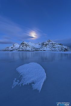 The Norway Blue Hour by Walter Dall'Armellina on 500px