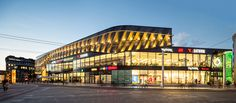 Einkaufszentrum Solingen von HPP Architekten / Metallgewebefassade