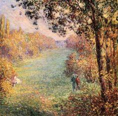 Autumn Henri Lebasque - 1900 oil on canvas