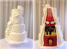 25 самых модных свадебных тортов 2015 года