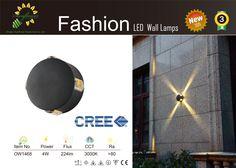 Led Wall Lights, Lamps, Creative, Fashion, Lightbulbs, Moda, La Mode, Lanterns, Fasion