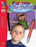 Cartoon Story Starters Gr. 1-6 (Enhanced eBook). Download it at Examville.com - The Education Marketplace. #scholastic #kidsbooks @Karen Echols #teachers #teaching #elementaryschools #teachercreated #ebooks #books #education #classrooms #commoncore #examville