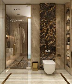 Modern Luxury Bathroom, Modern Master Bathroom, Contemporary Bathroom Designs, Bathroom Design Luxury, Modern Bathroom Decor, Bathroom Layout, Modern Bathroom Design, Small Bathroom, Bathroom Ideas