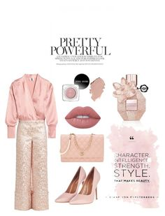 """pretty powerful"" by gracefelicia on Polyvore featuring Topshop, Chanel, Topshop Unique, Osman and Lime Crime"