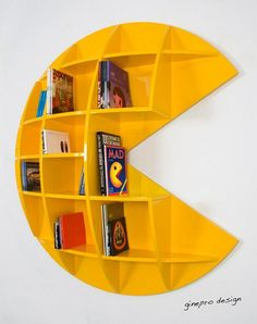 Pac-Man Shelf / Bookcase
