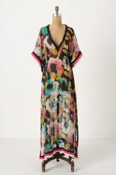 I have a genuine weakness for house dresses and robes. This would be heavenly. $79.95 on sale at Anthropologie.