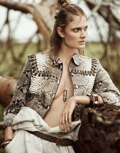 Song of Africa - Constance Jablonski by Boo George for Porter #14 Summer 2016