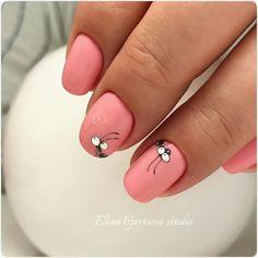 Nail Designs nail designs for fall nail designs for summer gel nail designs Nail Art Diy, Cool Nail Art, Diy Nails, Cute Nails, Manicure Ideas, Kids Manicure, Summer Gel Nails, Animal Nail Art, Easter Nails