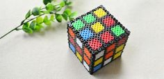 Magic Cube Crafts on How to Make 3D Perler Bead Designs | eBay