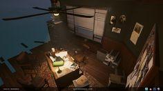 ArtStation - Detective Office , Kasia Woronko