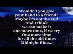 ▶ MIDNIGHT BLUE (Lyrics) - MELISSA MANCHESTER - YouTube