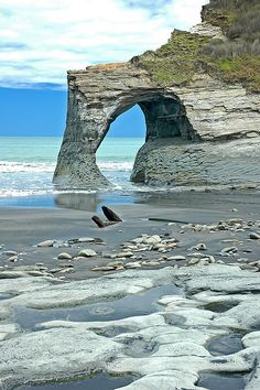 Taranaki - Whitecliffs Walkway, New Zealand