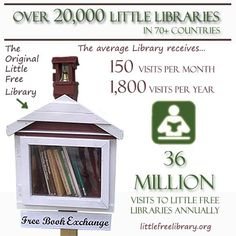 The best advice from experienced Little Free Library stewards plus we're sharing some mind-blowing year end statistics  …