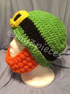 Ski Mask  Irish Leprechaun Cosplay made to order by My3Pieces